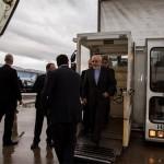 حادثه برای هواپیمای جواد ظریف