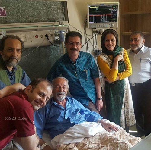 جعفر والی در بیمارستان