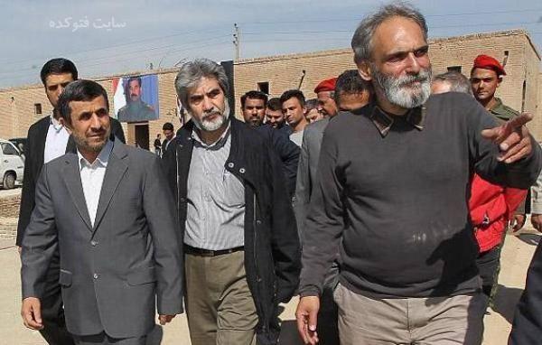 عکس و بیوگرافی جهانگیر الماسی و محمود احمدی نژاد
