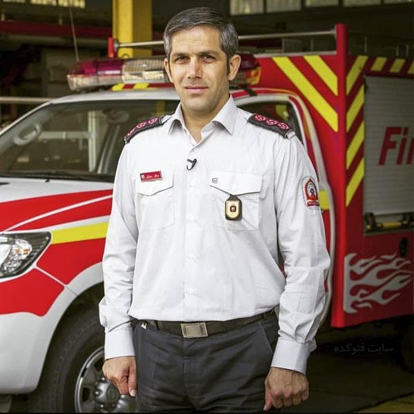 بیوگرافی جلال ملکی سخنگوی آتش نشانی + عکس شخصی