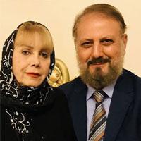 جلیل فرجاد و همسرش + زندگی شخصی هنری