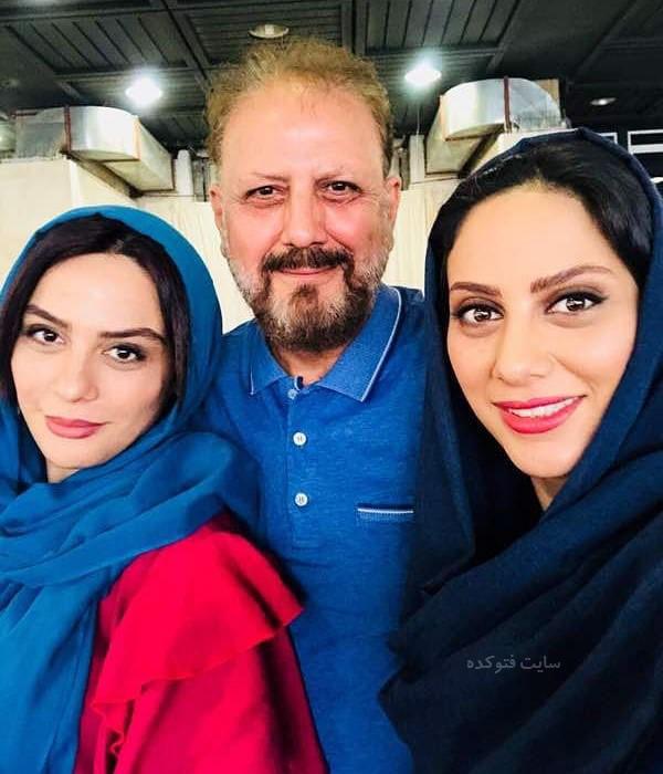عکس های جلیل فرجاد و دخترانش مارال و مونا + بیوگرافی کامل