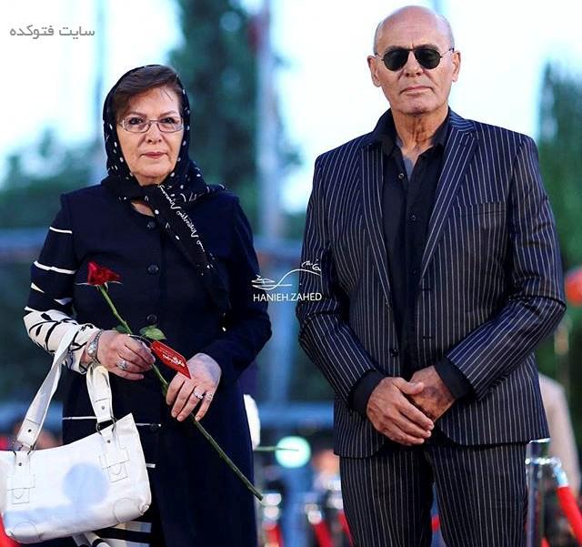 عکس جمشید هاشم پور و همسرش + بیوگرافی