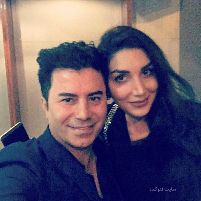 عکس جمشید خواننده و همسرش + بیوگرافی