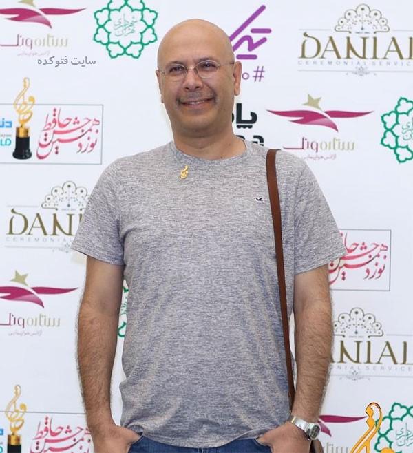 محمد بحرانی در جشن دنیای تصویر 98 + برندگان