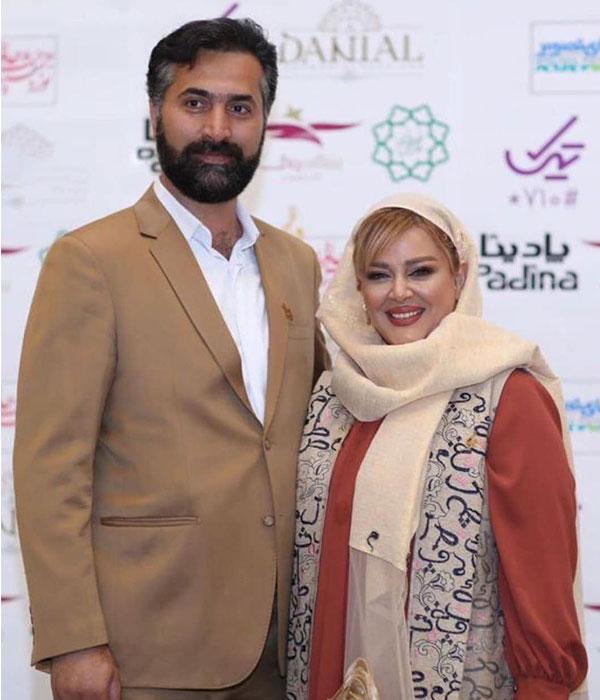 بهاره رهنما و همسرش در جشن دنیای تصویر 98