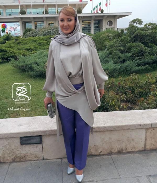 سولماز حصاری در لباس بازیگران جشن حافظ 98
