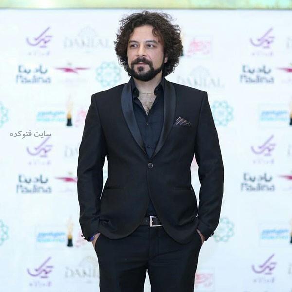 حسام منظور در عکس بازیگران جشن حافظ 98
