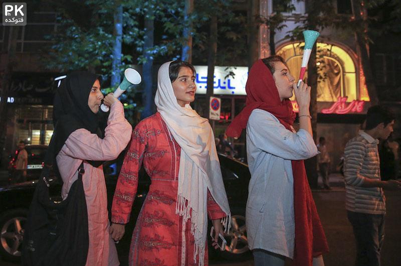 عکس های جشن هسته ای رقص و خوشحالی مردم,عکس های خوشحالی مردم بعد از توافق هسته ای,عکسهای جشن هسته ای,عکس های جشن هسته ای در تهران,عکس دختران در جشن توافق