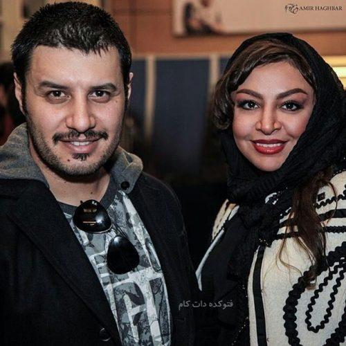 عکس جواد عزتی و همسرش مه لقا باقری + بیوگرافی