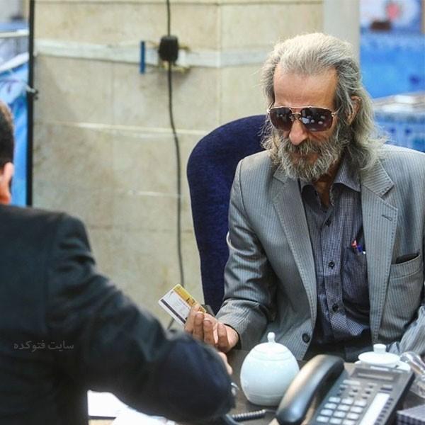 بازیگر نقش آتقی در سریال آینه عبرت جواد گلپایگانی
