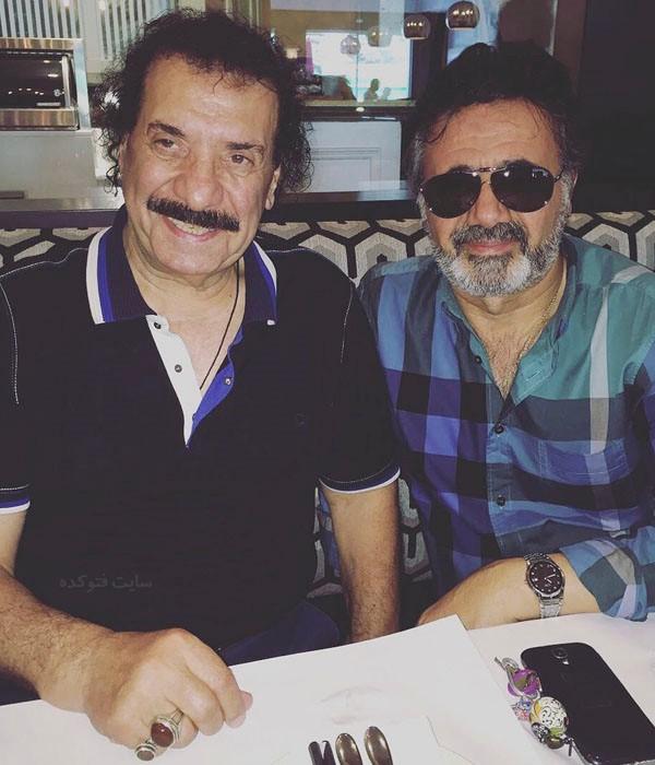 جواد یساری و معین خوانندگان مشهور ایارنی