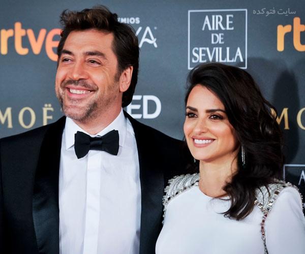 Javier Bardem و زنش