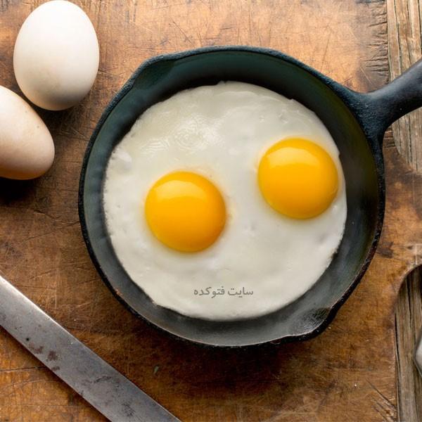 تخم مرغ در به جای گوشت قرمز چی بخوریم