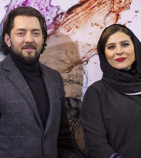 عکس سحر دولتشاهی و بهرام رادان