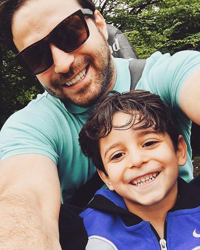 عکس های بابک جهانبخش و پسرش آرتا