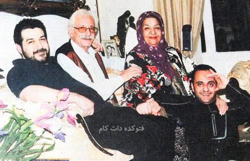عکس قدیمی و خانوادگی جمشید مشایخی + بیوگرافی کامل