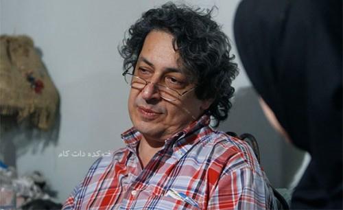 عکس نادر مشایخی پسر جمشید مشایخی