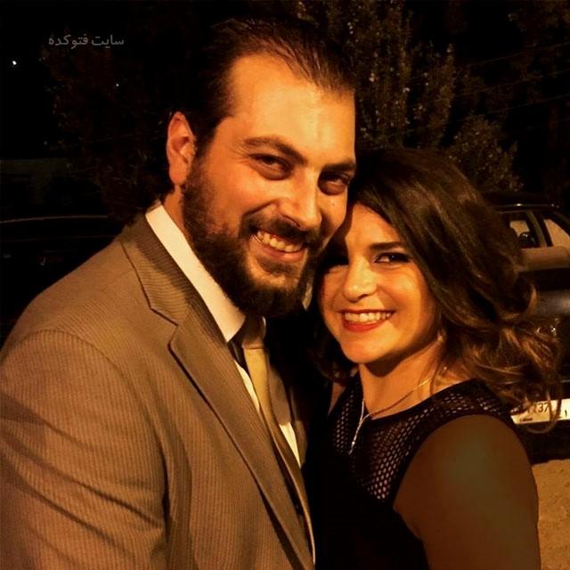 عکس جوزف سلامه و همسرش + بیوگرافی