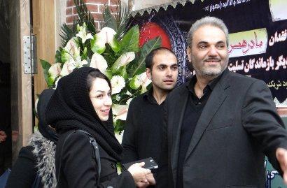 عکس جواد خیابانی و همسرش بهناز , عکس همسر جواد خیابانی