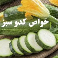 25 خواص کدو سبز برای لاغری، پوست و سلامتی بدن