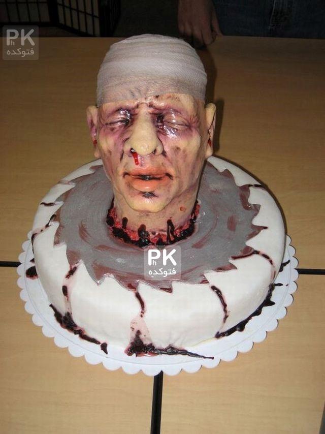 عکس های چندش آور کیک تولد,کیک تولد های ترسناک,عکس کیک تولد های زشت,عکس های خلاقانه از کیک تولد ها وحشتناک,کیک تولد های چندش آور,مدل تزئین ترسناک کیک تولد