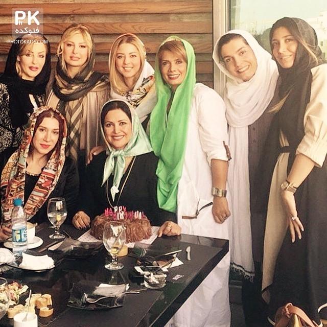 عکس های تولد کمند امیر سلیمانی,عکس تولد بازیگر زن معروف کمند امیر سلیمانی,عکس لو رفته تولد بازیگر ایرانی کمند امیر سلیمانی,عکس بازیگران در تولد بازیگر زن