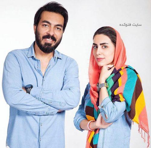 عکس کامران رسول زاده و ندا عبدی عکاس