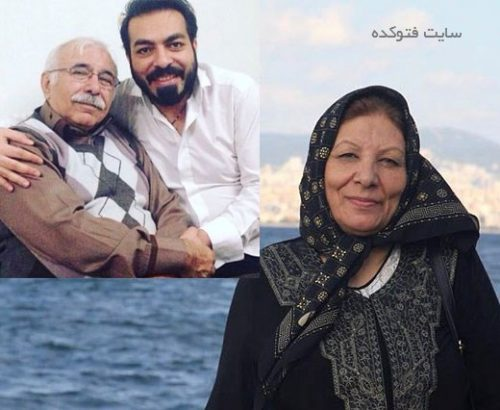 عکس کامران رسول زاده و مادرش + استاد محمدعلی بهمنی