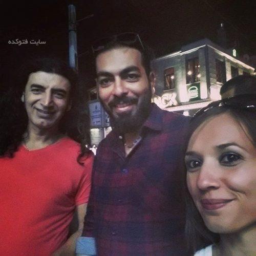 کامران رسول زاده در کنار مورات ککلی خواننده ترکیه و ...
