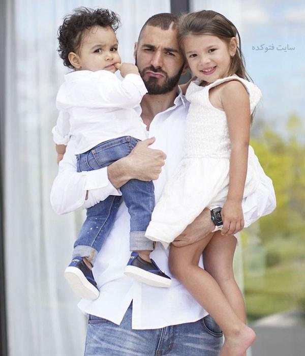 فرزندان کریم بنزما + بیوگرافی کامل و همسرانش