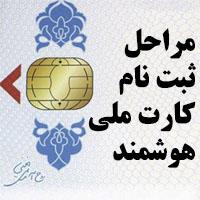 تعویض کارت ملی + مدارک ثبت نام کارت ملی هوشمند