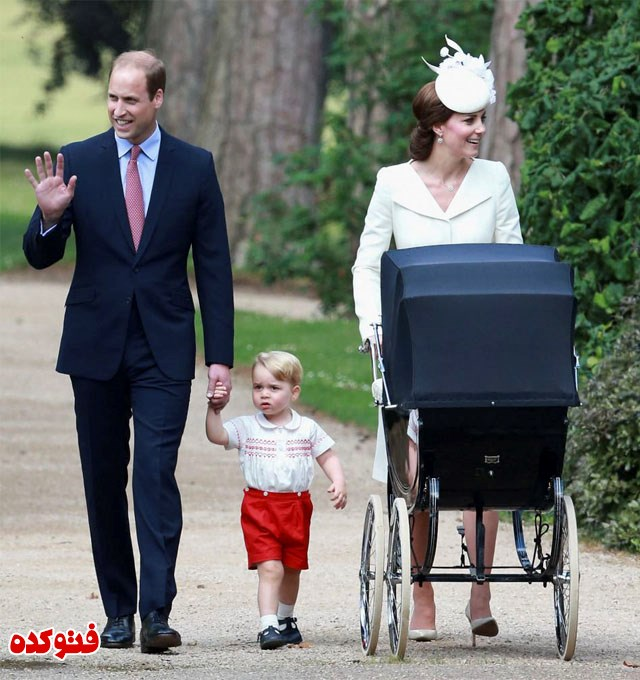 جدیدترین عکس کیت میدلتون و شاهزاده ویلیام