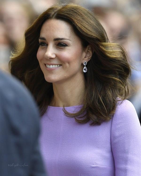 کیت میدلتون همسر شاهزاده ویلیام + بیوگرافی و عکس های شخصی