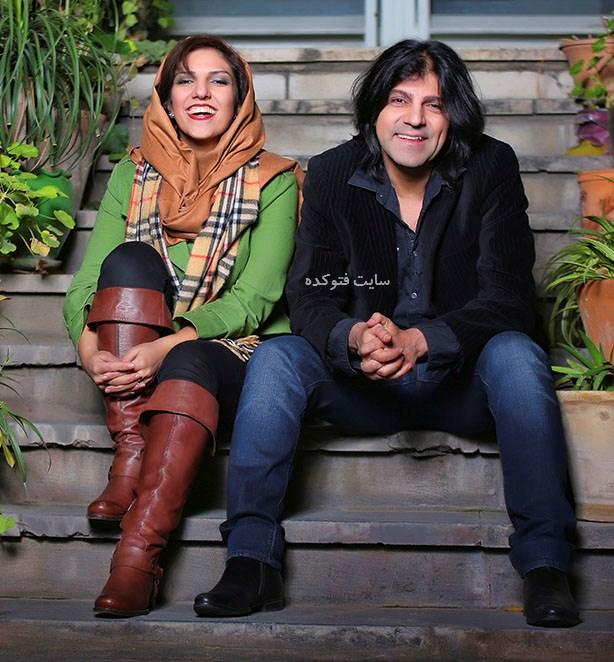 عکس کاوه یغمایی و همسرش نیلوفر فرزند شاد + بیوگرافی کامل