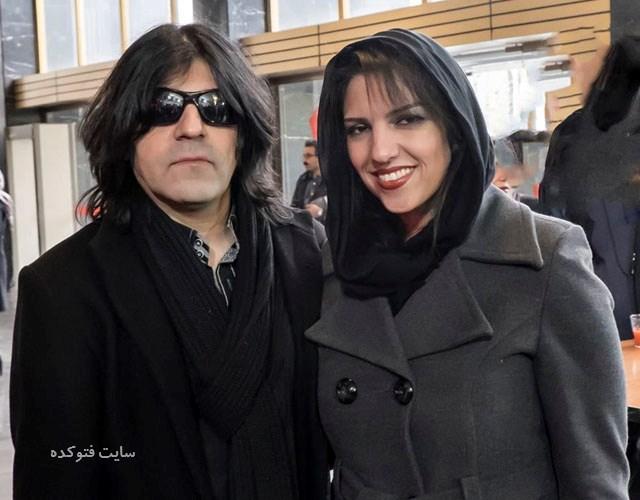 عکس همسر کاوه یغمایی و نیلوفر فرزند شاد