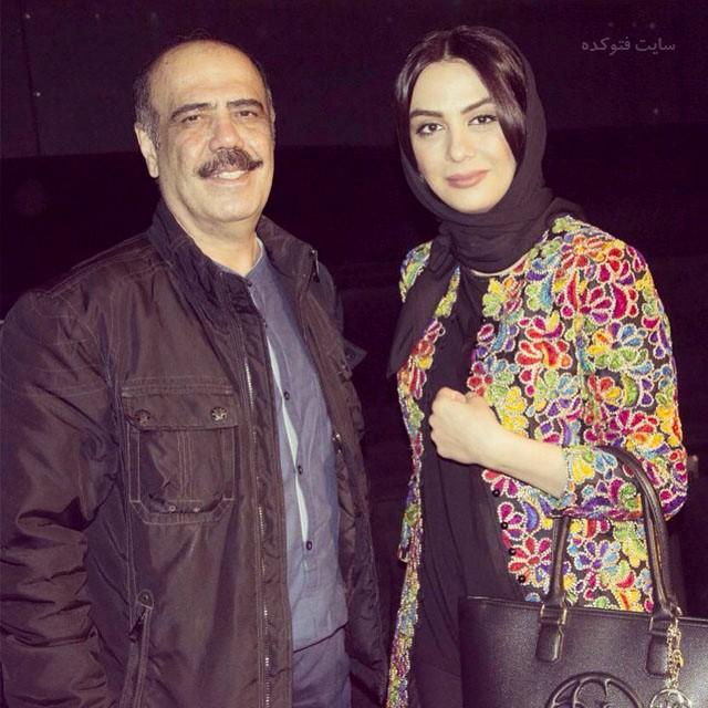 عکس کاظم بلوچی و مارال فرجاد