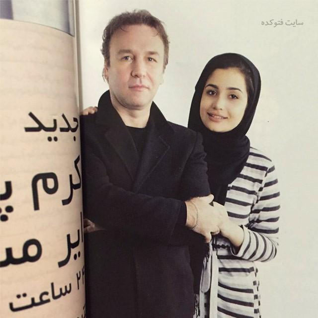 عکس کیهان ملکی و دخترش ژرفا ملکی + بیوگرافی
