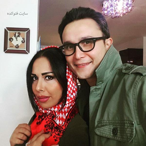 کیوان محمودنژاد و همسرش آیلین کیخایی + بیوگرافی