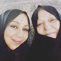 عکس خانوادگی بازیگران زن ایرانی