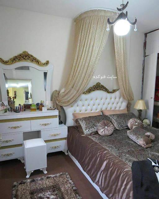 دکوراسیون اتاق خواب,دکوراسیون اتاق خواب دونفره,دکوراسیون اتاق خواب عروس,چیدمان اتاق خواب عروس,مدل تخت خواب دو نفره,مدل چیدمن اتاق خواب ایرانی,تخت خواب عروس