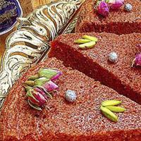 طرز تهیه خاگینه گل محمدی با دستور ساده