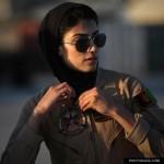 عکس زیباترین زن خلبان جهان
