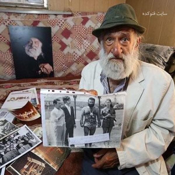 عکس و بیوگرافی خلیل عقاب پدر سیرک ایران