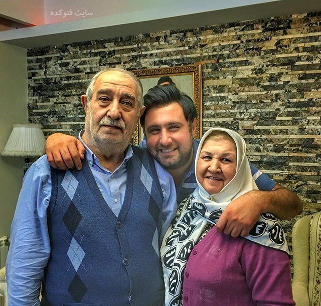 عکس پدر و مادر محمد علیزاده + بیوگرافی