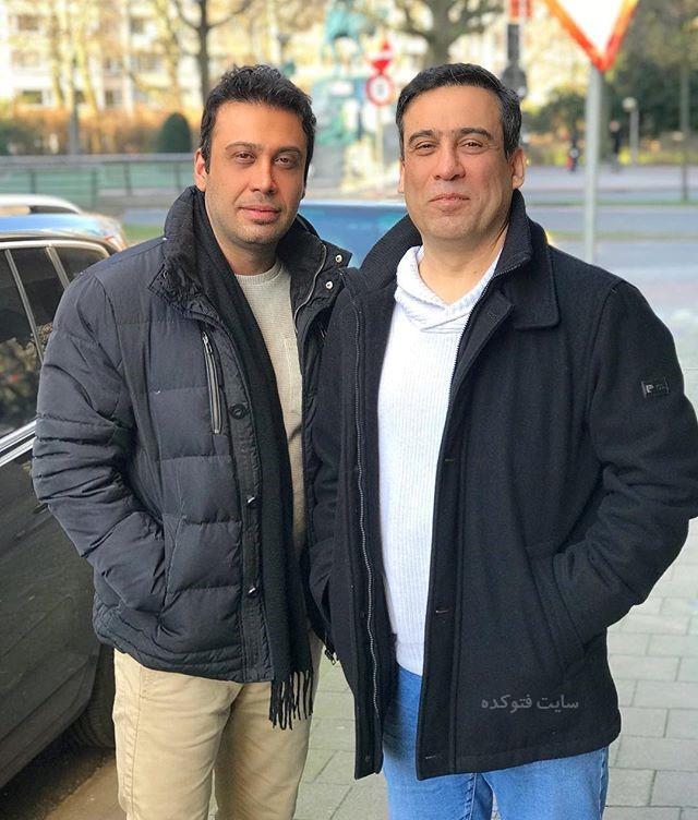عکس محسن چاووشی و برادرش