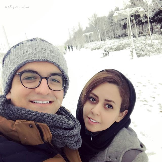 عکس سینا شعبانخانی و همسرش