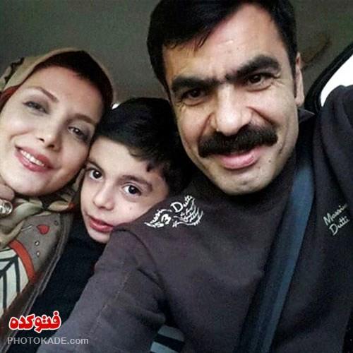 عکس رویا میرعلمی و همسرش حسین کیانی,عکس همسر رویا میرعلمی بازیگر زن ایرانی