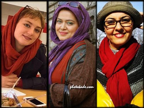 عکس بازیگران زن آذر 93