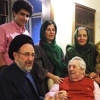 سید محمد خاتمی در منزل داوود رشیدی